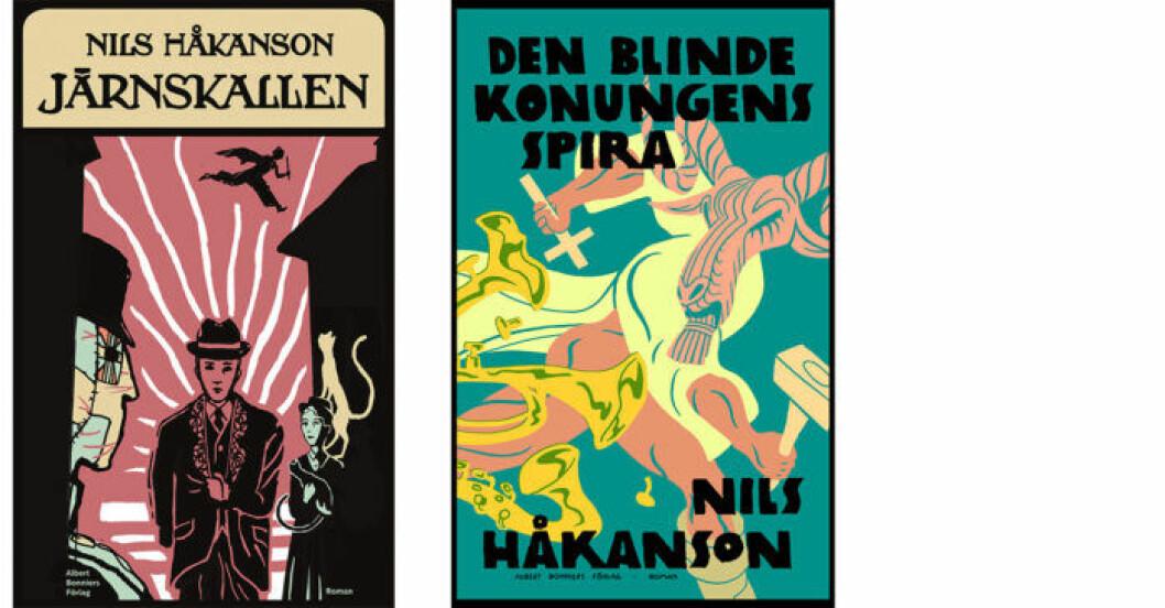 Järnskallen och Den blinde konungens spira av Nils Håkanson