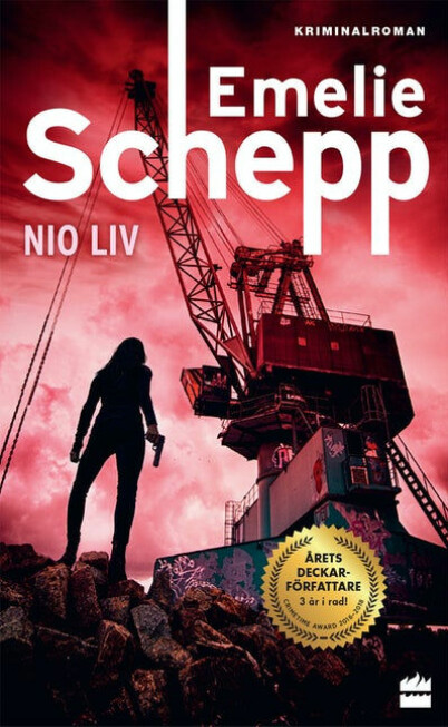 Bokomslag Nio liv av Emelie Schepp