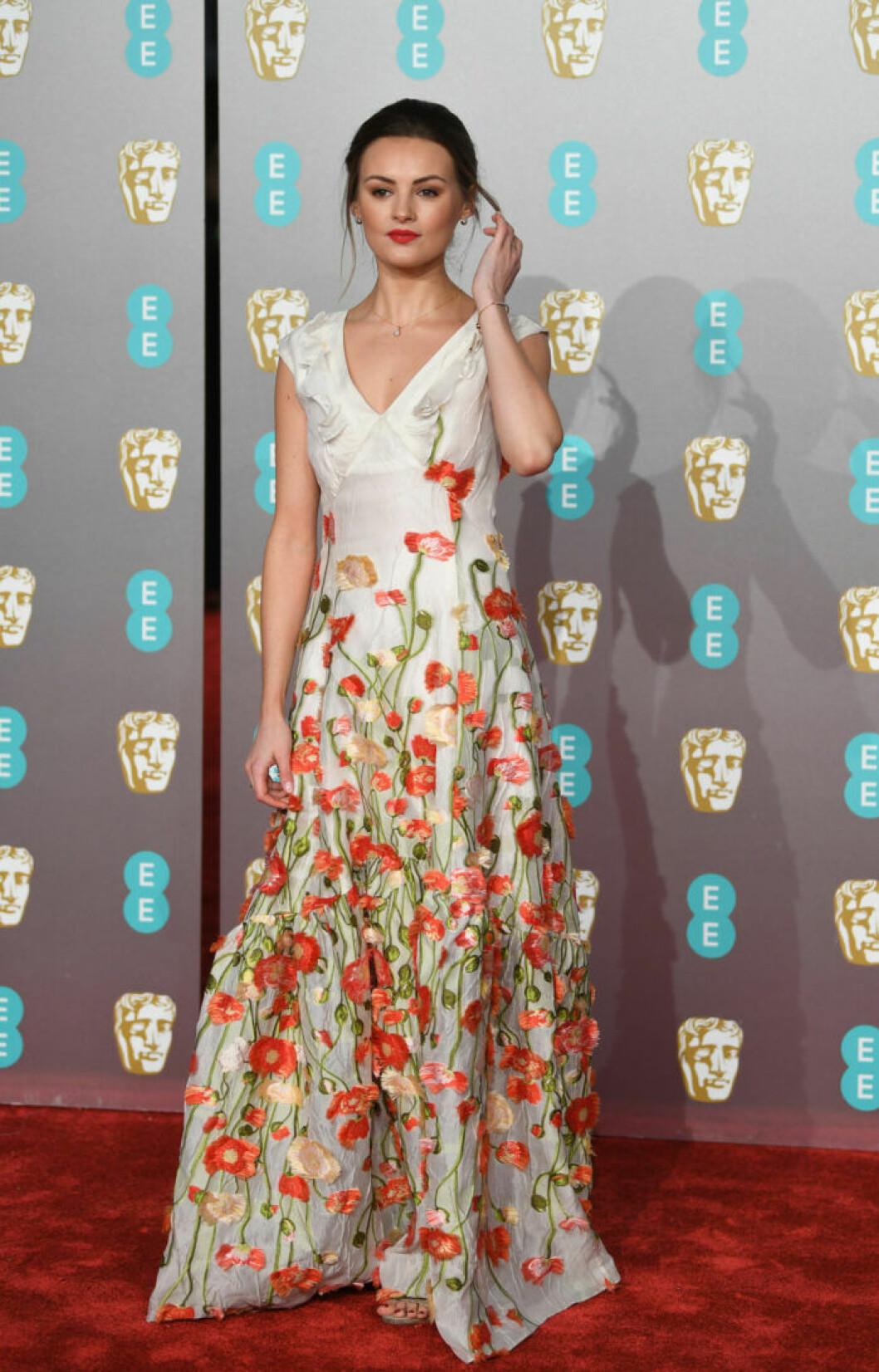 Niomi Smart på BAFTA 2019