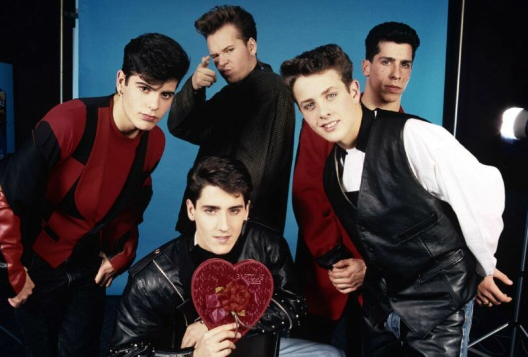 New Kids on the Block bildades redan 1986.