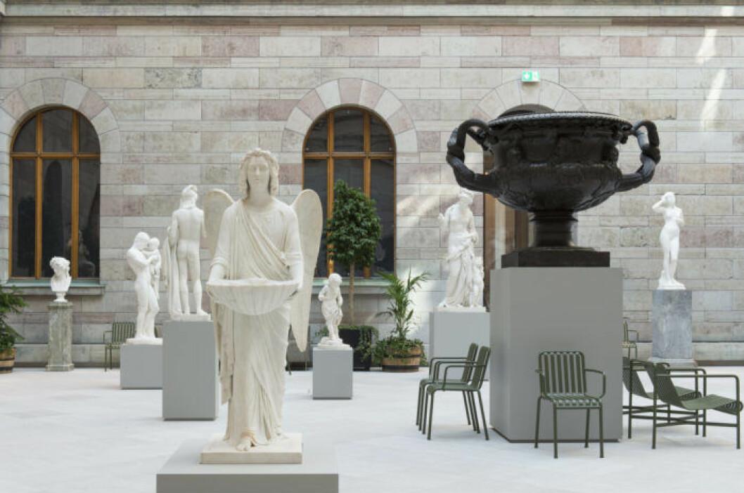Skulpturgården på Nationalmuseum.
