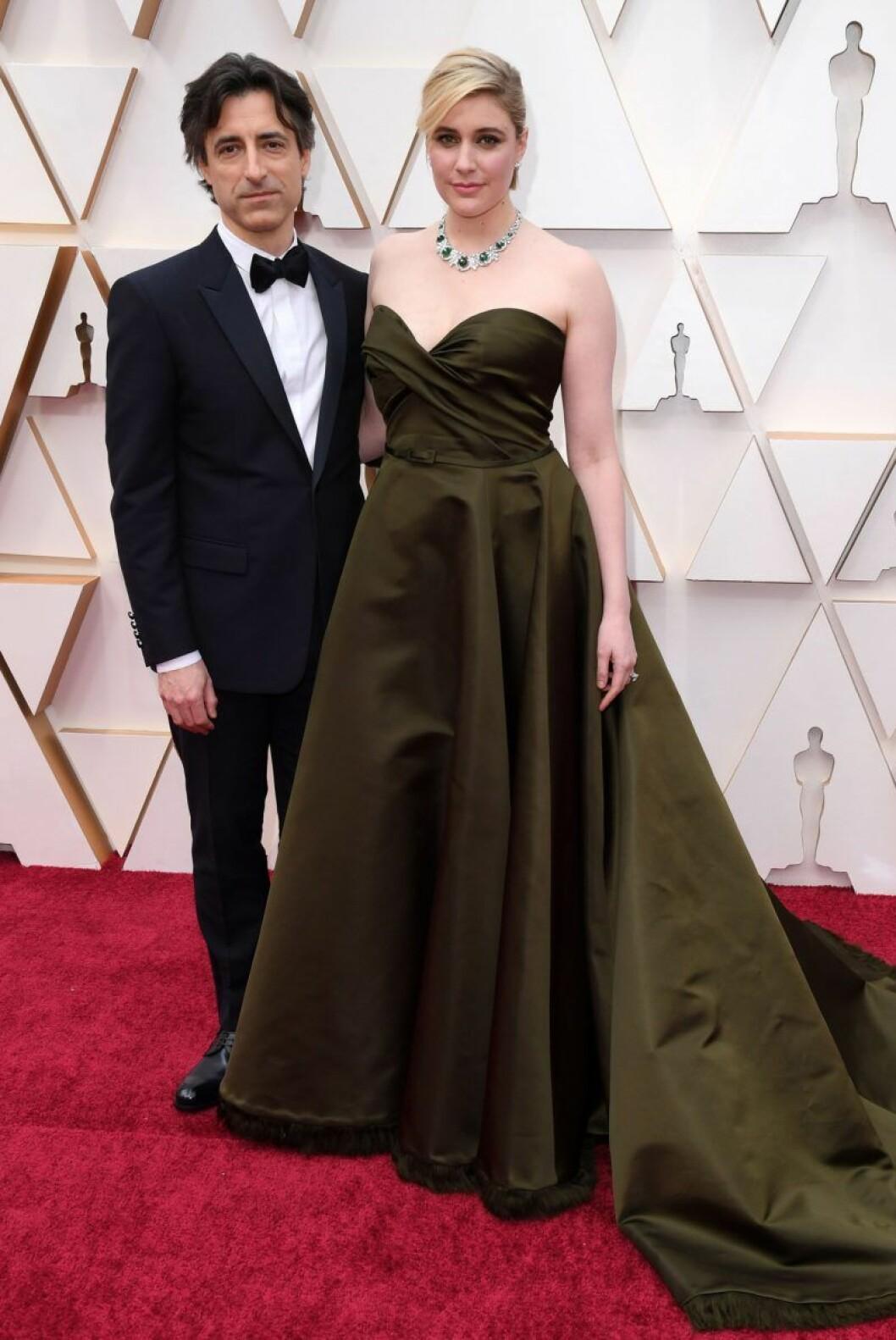 Greta Gerwig och Noah Bachman