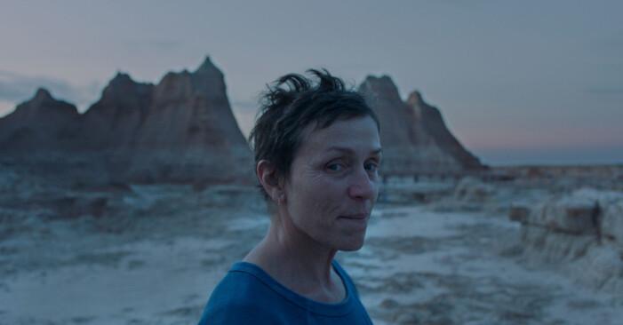 Frances McDormand i Nomadland