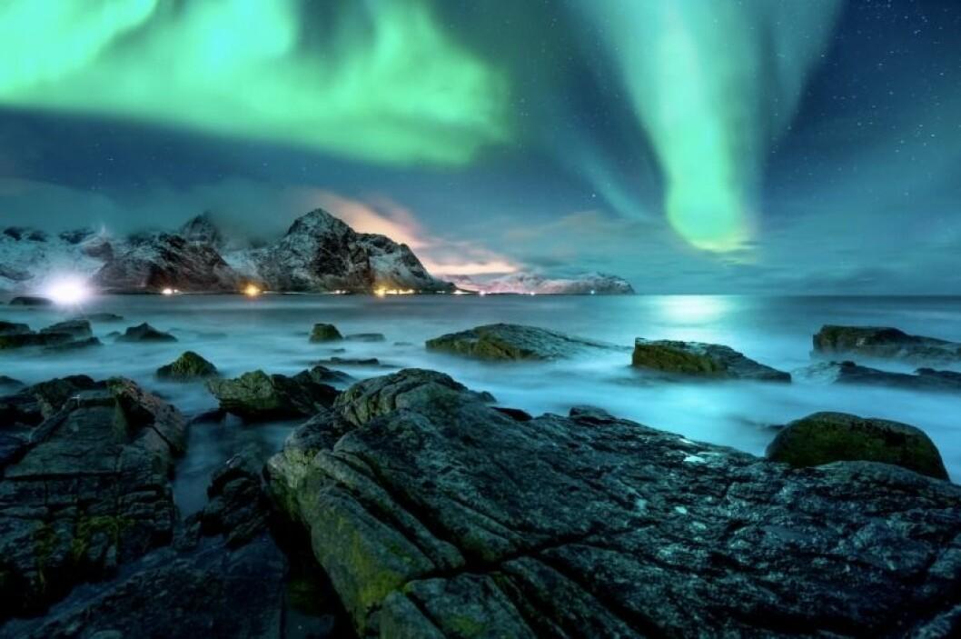 Norrsken grönt