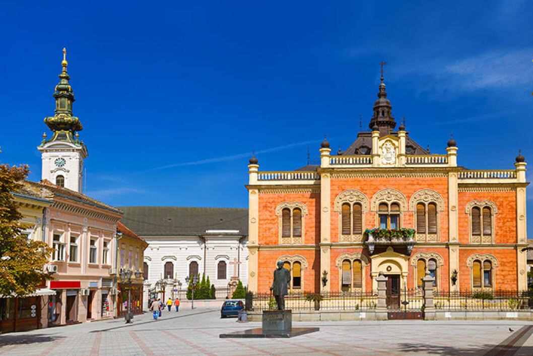 Novi Sad är en av alla trendiga städer 2019