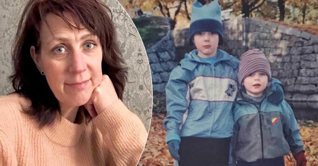AnnSophie Forssells söner har NPF-fiagnoser, och fick kämpa under uppväxten.