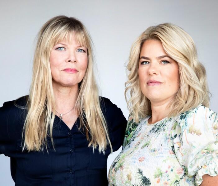 Cecilia Gustavsson och Josefine Frankner har skrivit boken tillsammans.