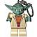 Nyckelring med Yoda