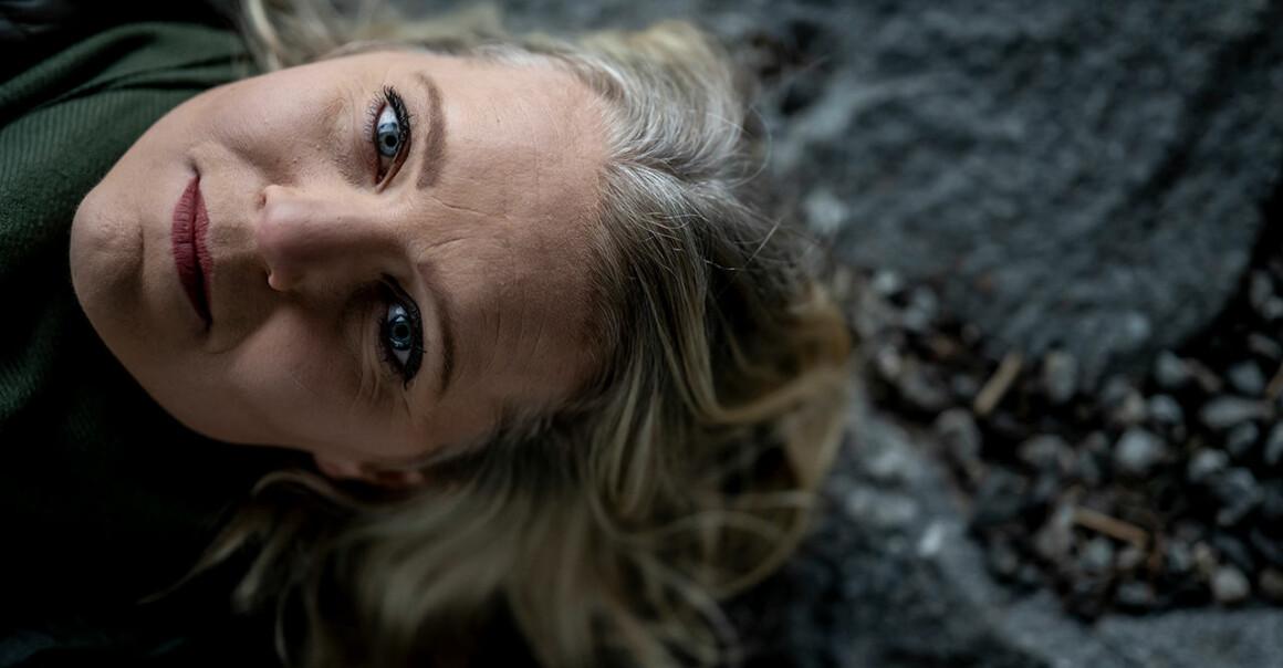 Närbild på Carina Bergfeldt