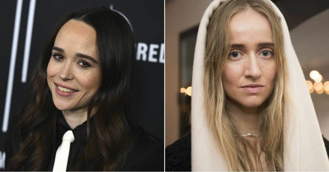 Ellen Page och Silvana Imam.