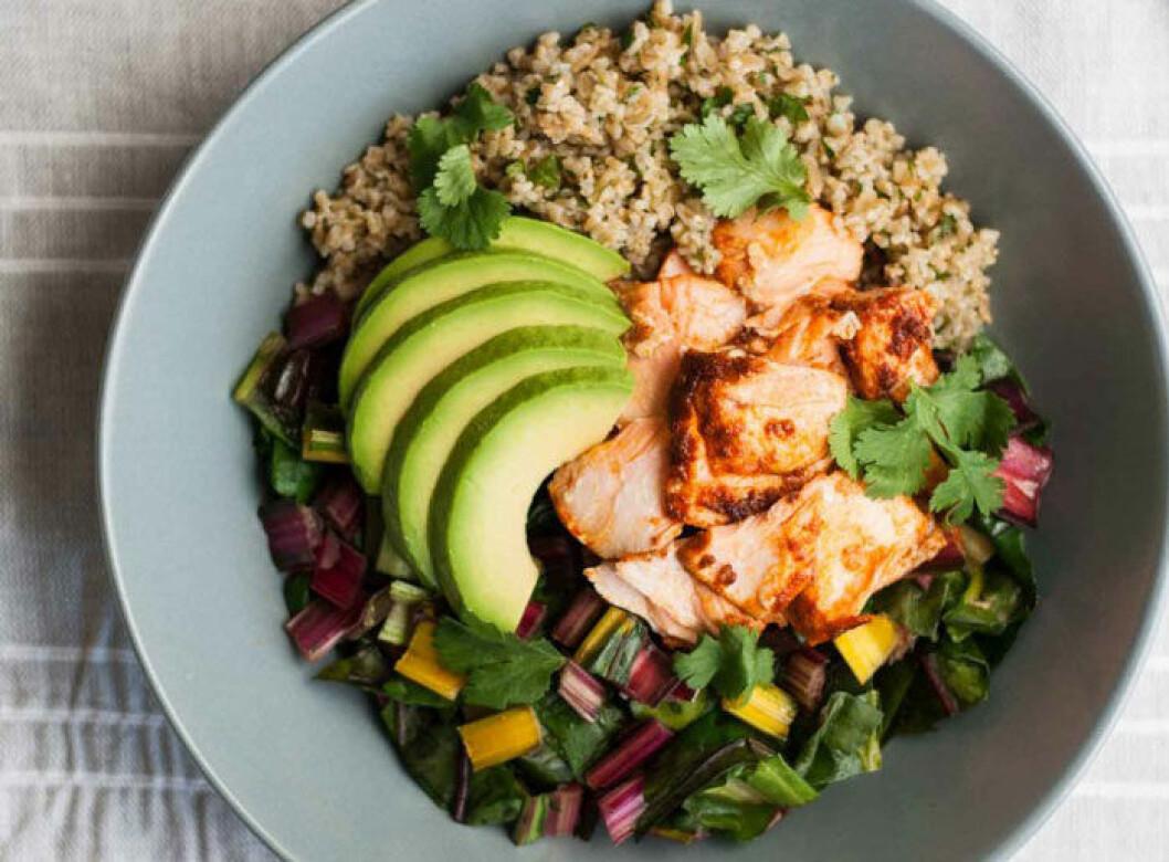 Chiptolelax med avokado och quinoa