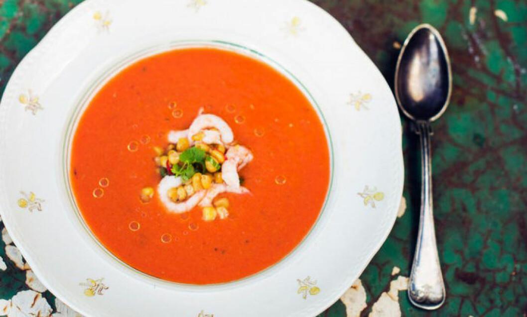 Gazpacho - nyttig sommarlunch