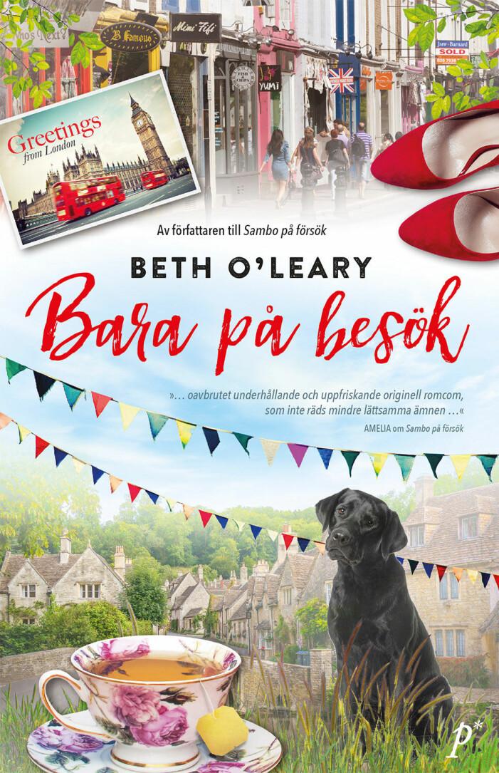 Bara på besök, Beth O'Leary, feelgood (Printz)