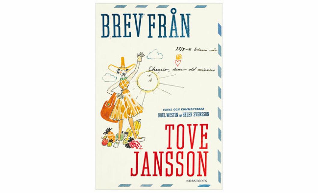 Omslag boken Brev från Tove Jansson (Norstedts)