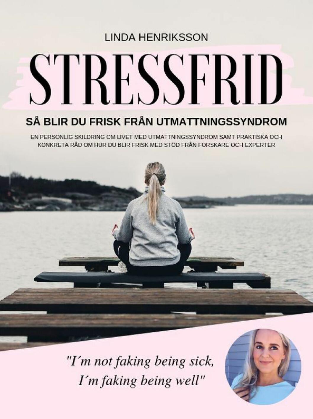 Omslag Stressfrid av Linda Henriksson.
