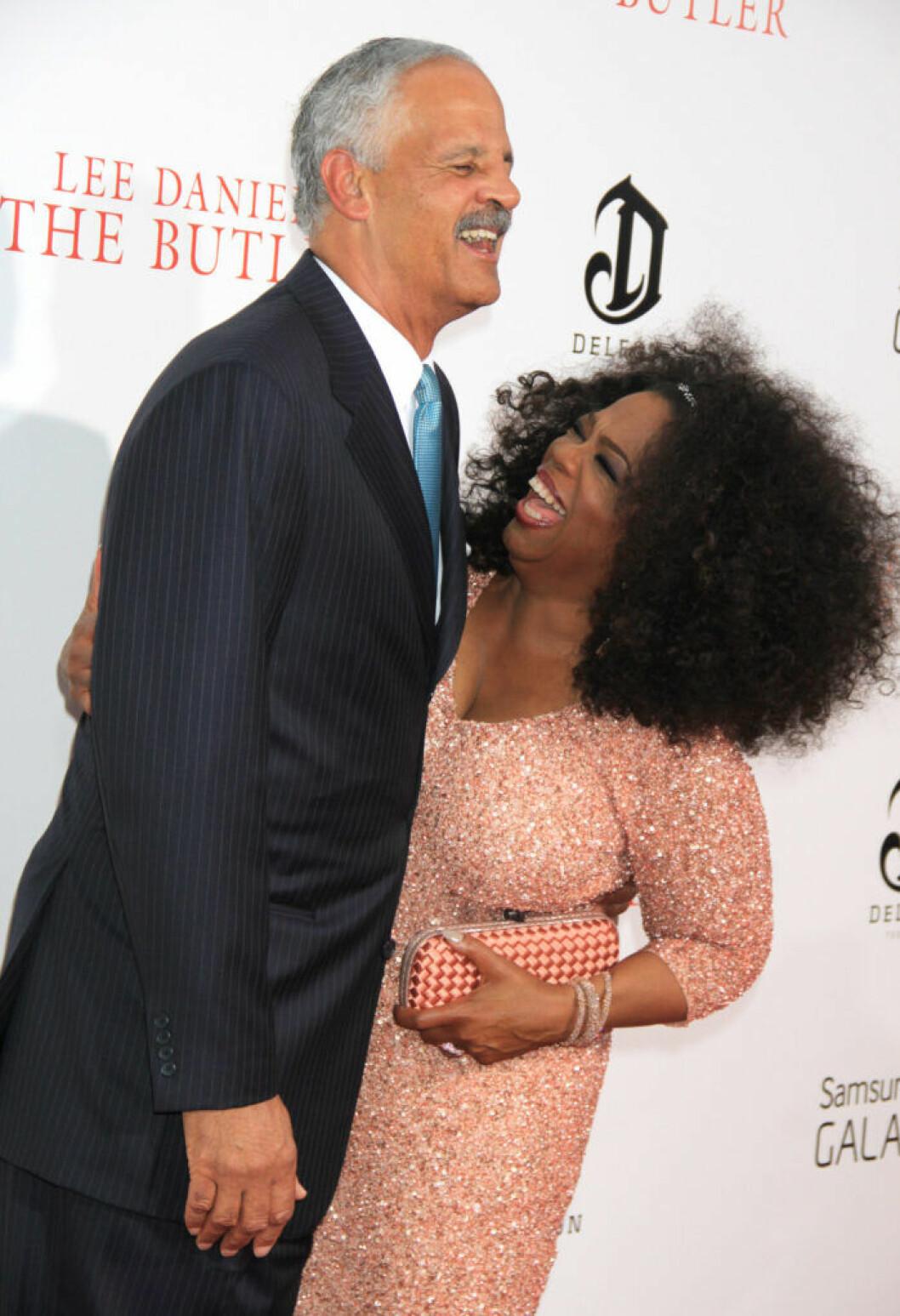 Oprah Winfrey och Stedman Graham