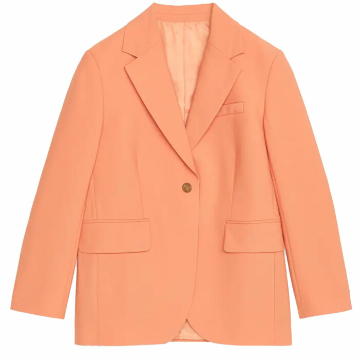 Orange blazer arket