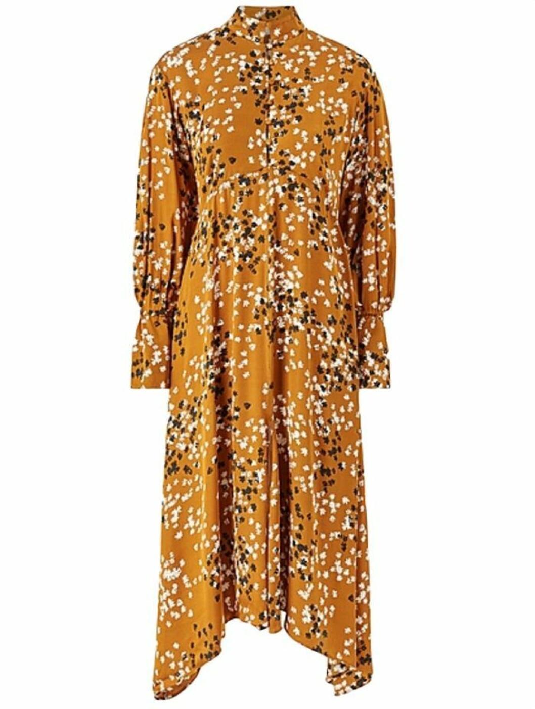 Orange maxiklänning från Dagmar
