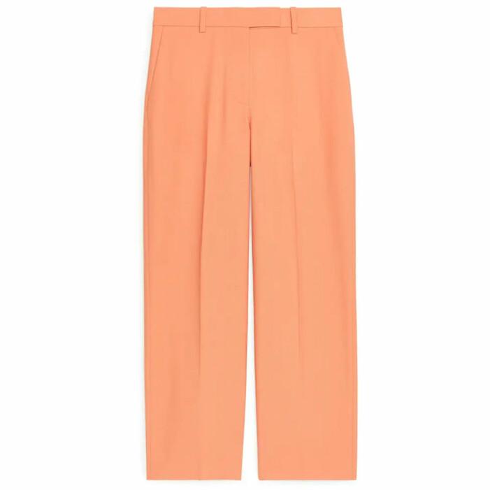orange kostymbyxor arket
