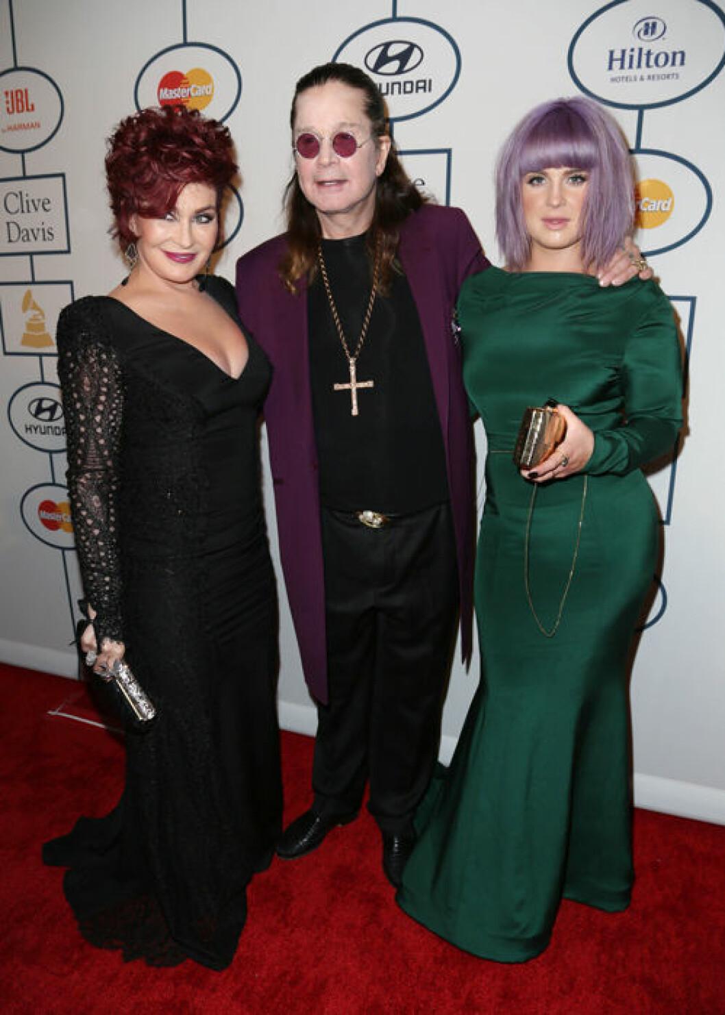 Familjen Osbourne.