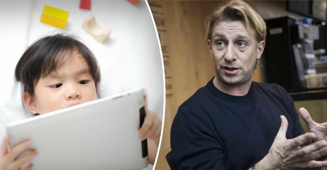 Överläkaren Anders Hansen om barns användning av skärmar
