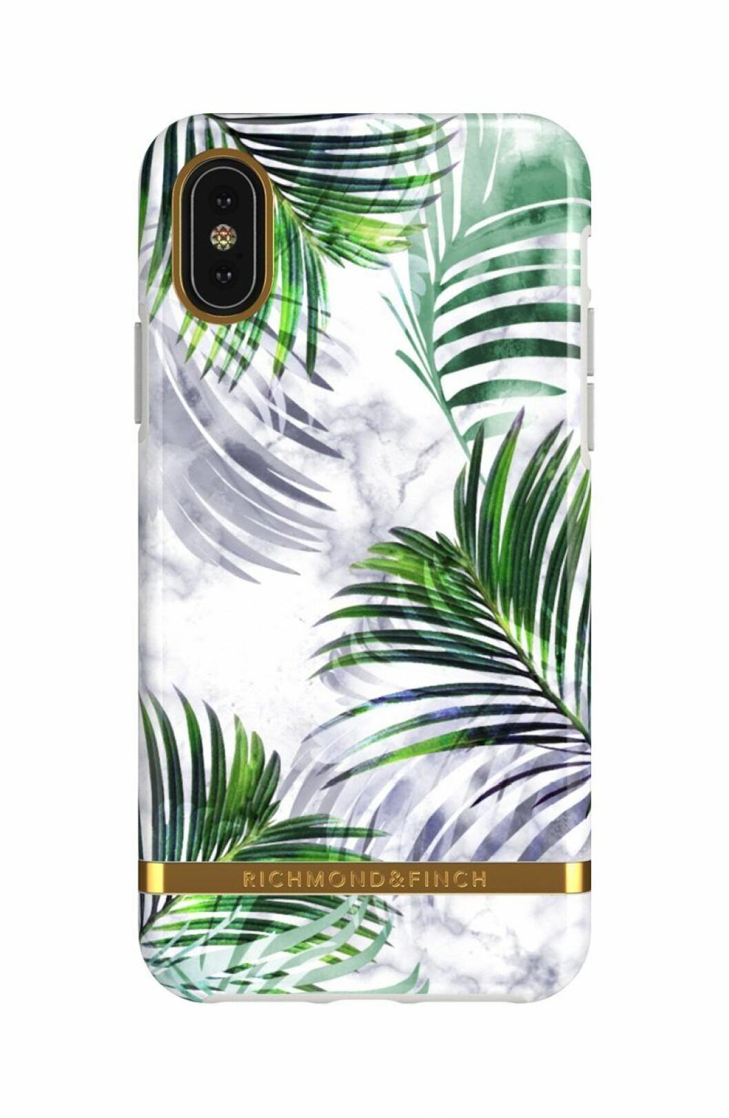 Mobilskal med palmer