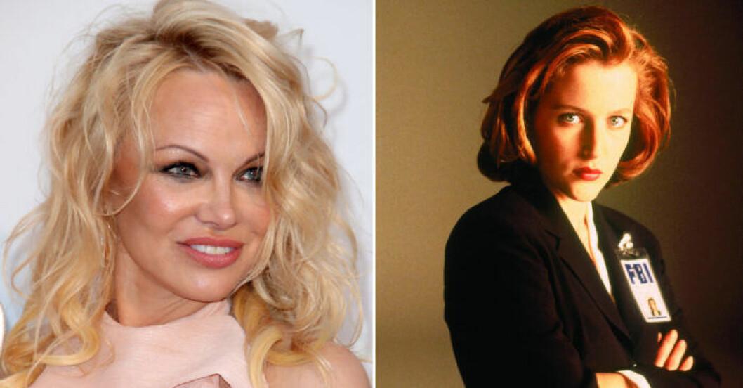 Pamela Anderson Dana Scully
