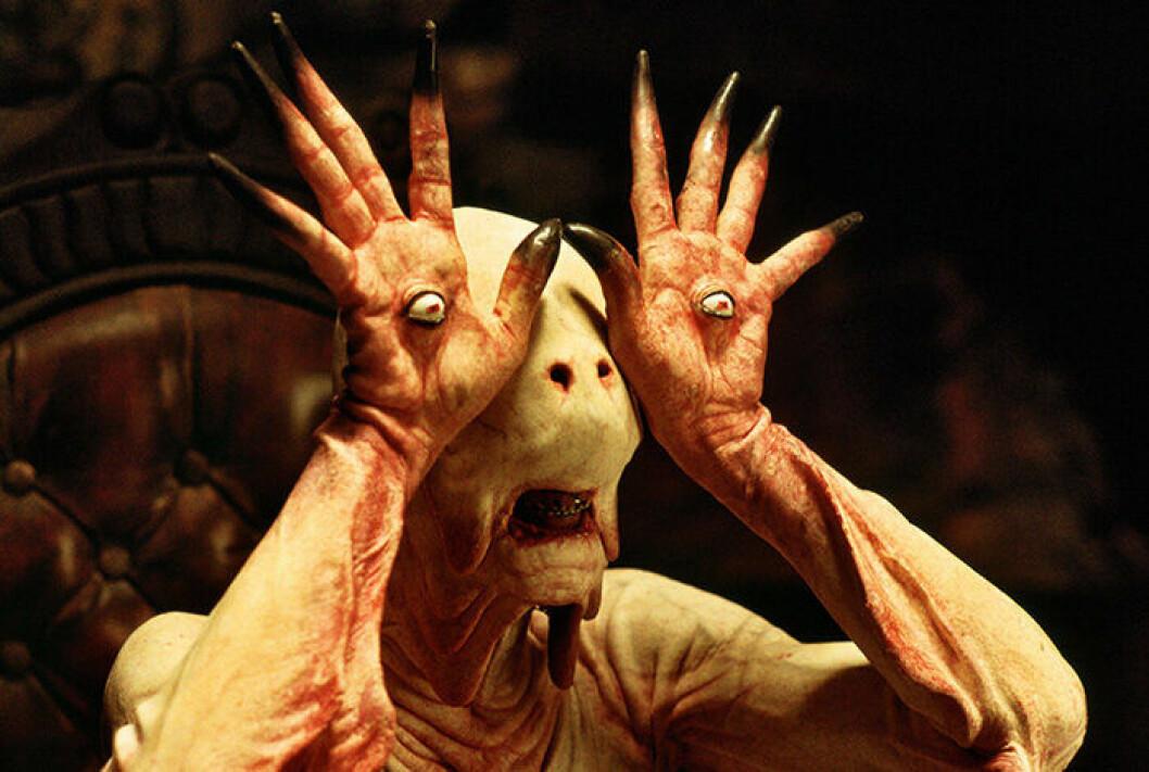 En bild från skräckfilmen Pans labyrint, som hade premiär 2006.