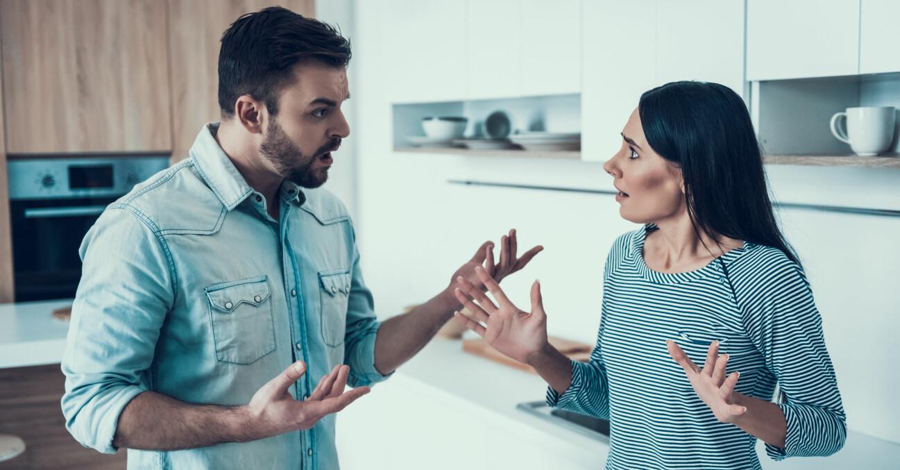 Par som bråkar