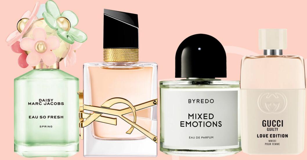 Vårens bästa parfymer enligt Feminas skönhetsredaktör
