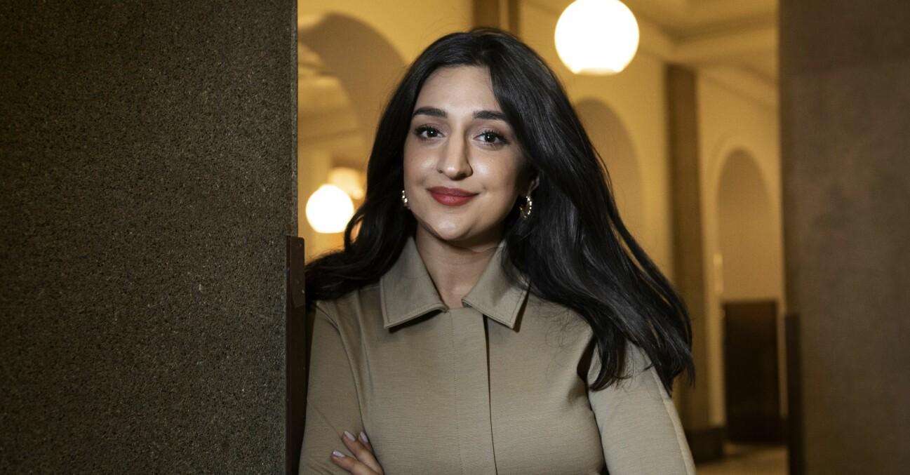 Parisa Amiri programledare för nya programet Kvartsamtalet i SVT