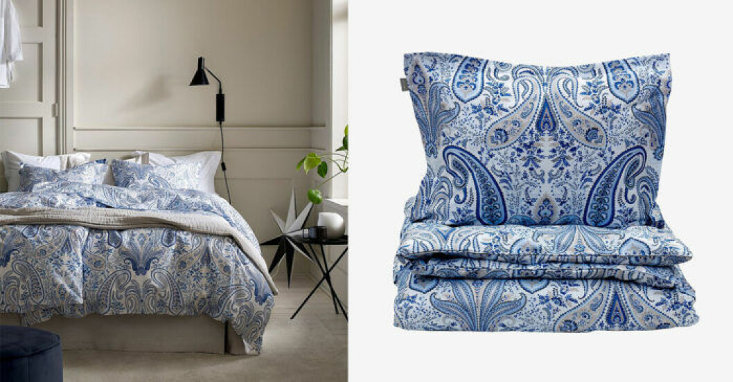 Sängkläder i paisley