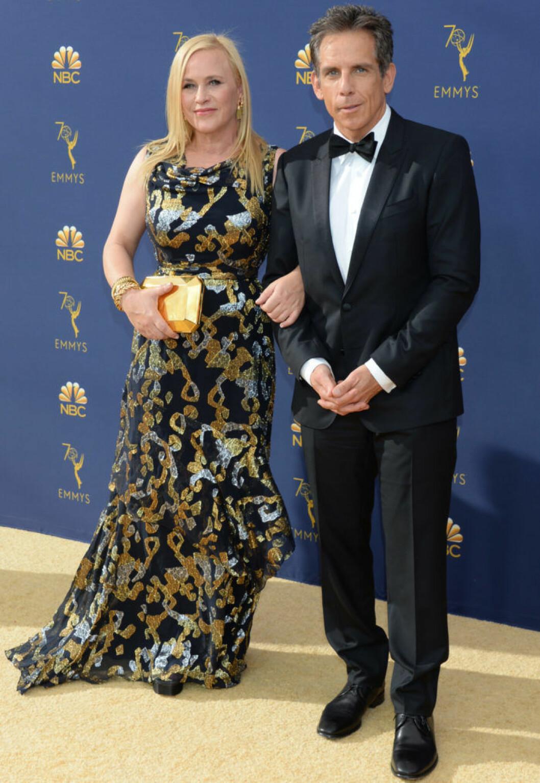 Patricia Arquette och Ben Stiller, Emmygalan 2018