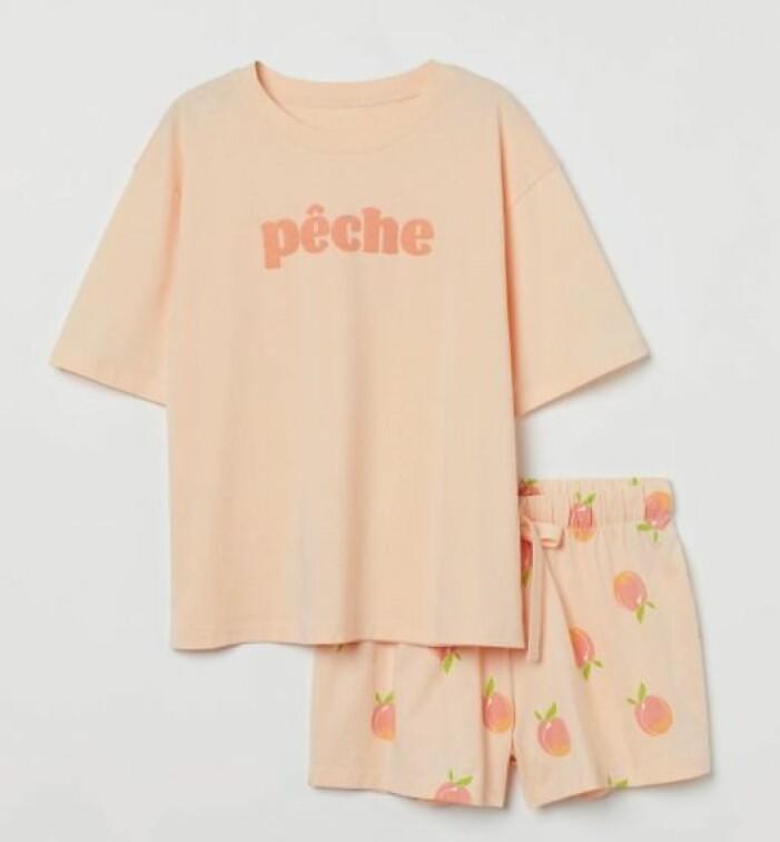 pyjamas från H&M