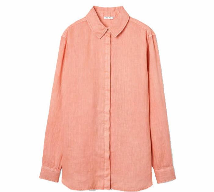 orange skjorta dam