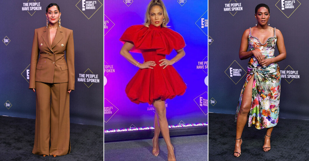Röda mattan på People's Choice Awards 2020