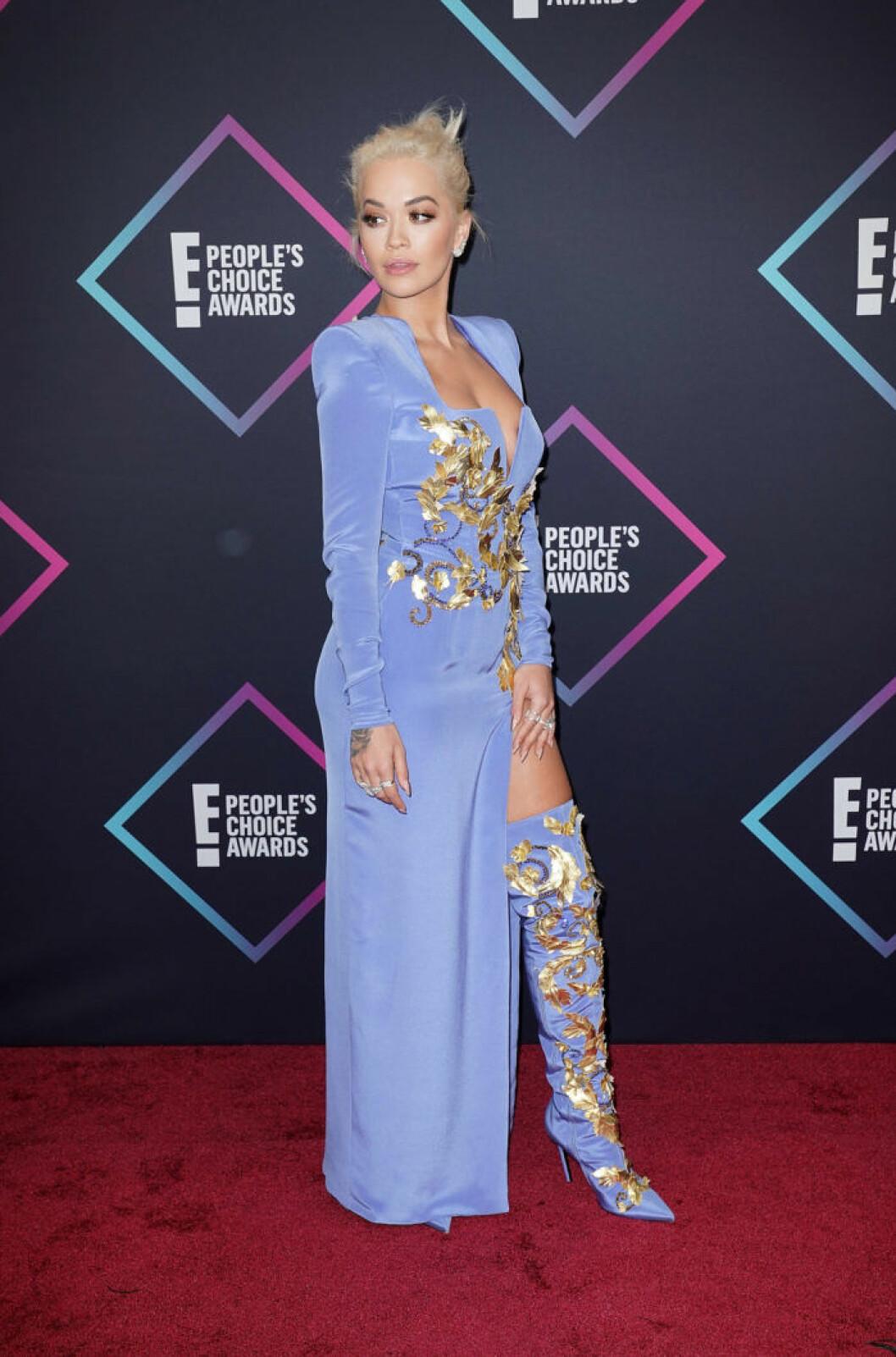 Rita Ora på The Peoples Choice Awards 2018