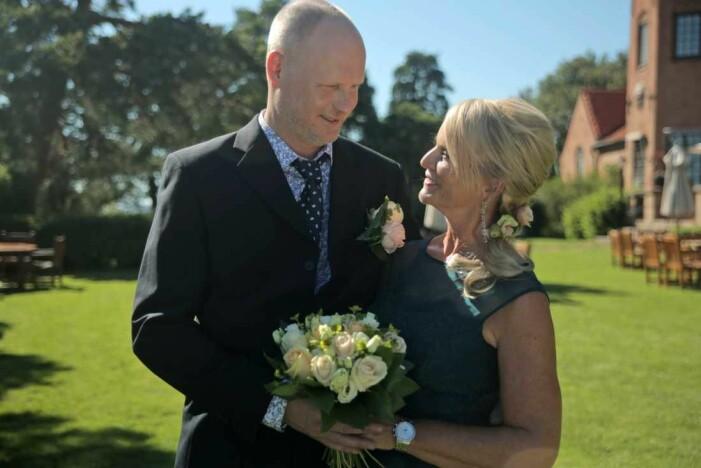 Per Rydergård och Eva Strand gifter sig i gift vid första ögonkastet