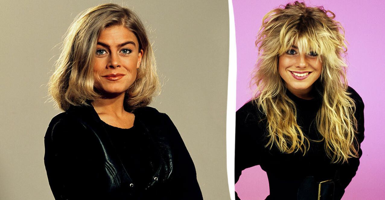 Pernilla Wahlgren 1992 och 80-tal