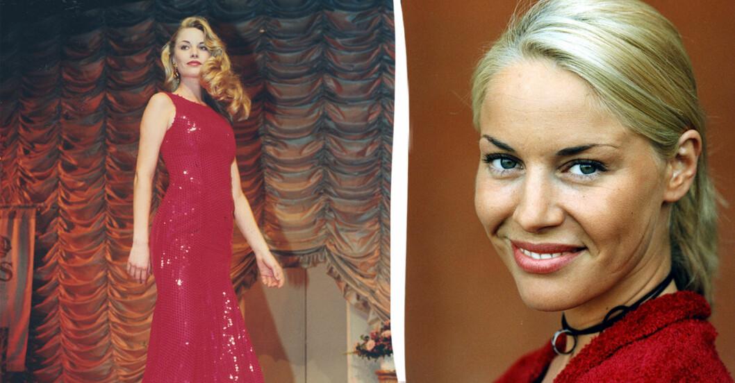 Petra van de Voort, tidigare Hultgren, som Fröken Sverige.