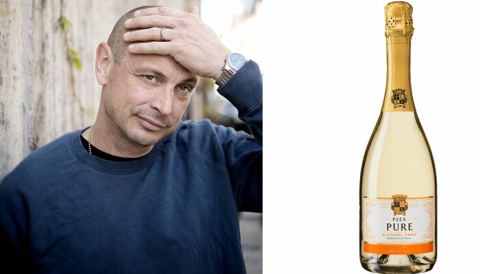 Petter och en flaska bubbel