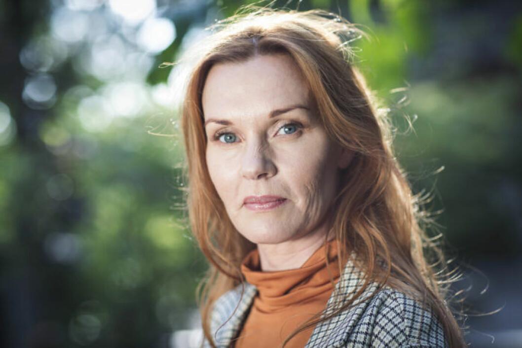 Pia Johansson levde med en psykopat i massa år.