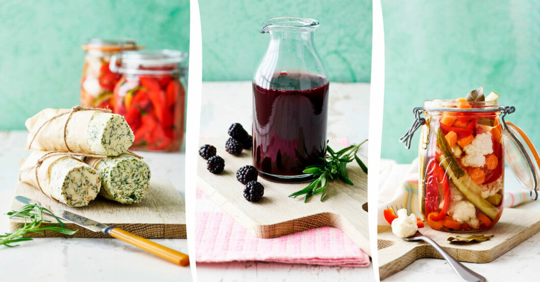 Pickla, sylta och spara. 6 härliga recept för dig som vill ta vara på skörden