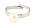 Justerbar ring, silverfärgad med pärla på. Ring från Pilgrim.