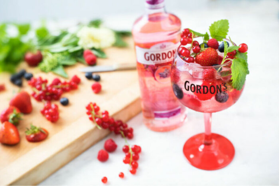 Gordon's drink Pink tonic.