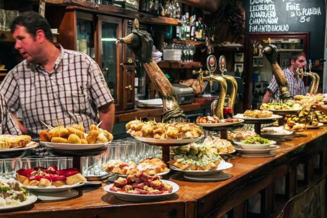 Världens bästa matupplevelser: Pinxtos i San Sebastian