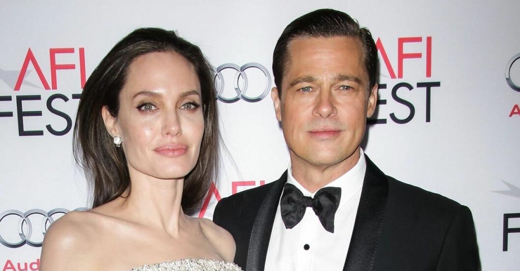 Angelina Jolie och Brad Pitt bröt upp 2016.