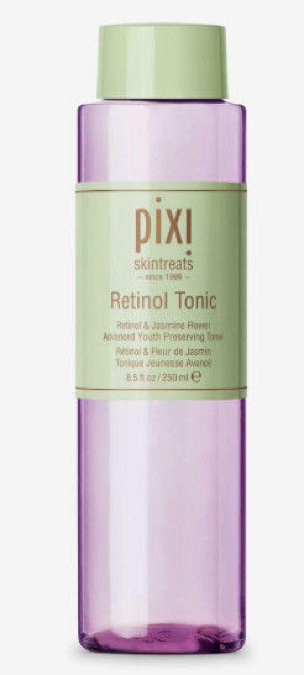 Pixi retinol tonic är ett ansiktsvatten som gör hudytan fin