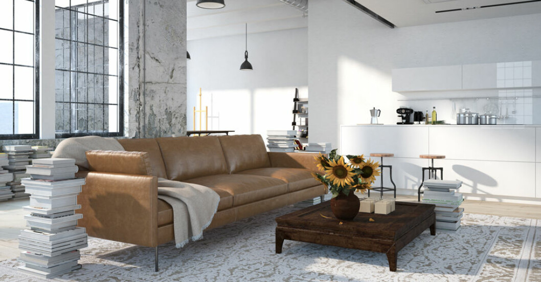 placera soffa i vardagsrum