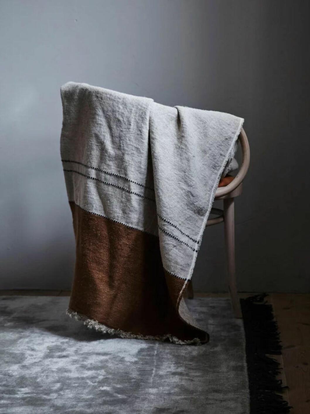Lyxig filt som även fungerar som badlakan